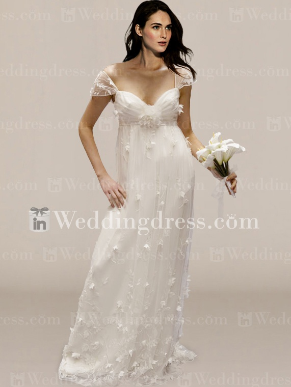 Informal Wedding Dress (BC387)