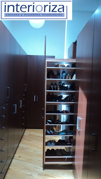 Pon orden a todos tus zapatos dentro del closet for California closets mexico