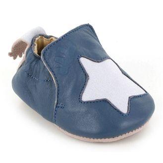 EZPZ sutsko Blublu, blå m stjerne