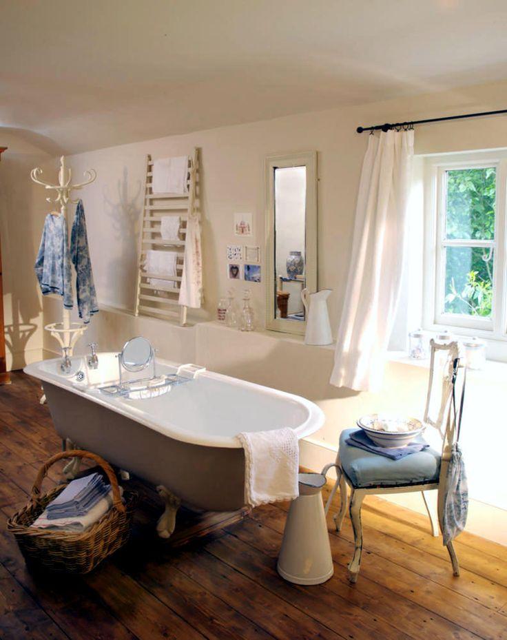 Die besten 25+ ländliche Badezimmer Ideen auf Pinterest Landhaus - bad landhausstil