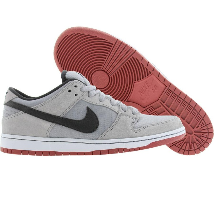 Nike Men Dunk Low Pro SB (wolf grey / anthracite / light rdwd) 304292