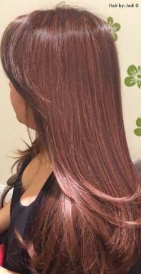 Haartrend 2015: Prachtige lange kapsels met Rose Gouden kleuren!