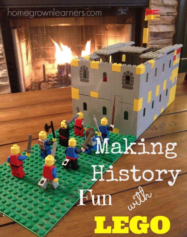 Making History Fun With Lego via @marykprather @LEGO_Education #homeschool