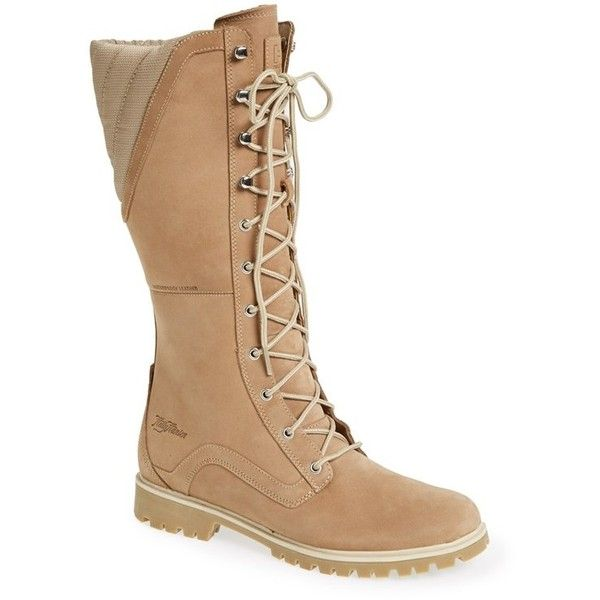 Women's Helly Hansen 'Solli' Tall Boot ($210) ❤ liked on Polyvore featuring shoes, boots, genuine leather boots, helly hansen, real leather knee high boots, knee high leather boots and helly hansen boots