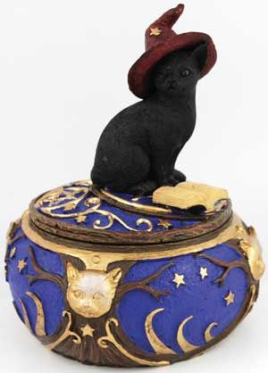 Magical Cat Box - A great gift for the Witch in your life.