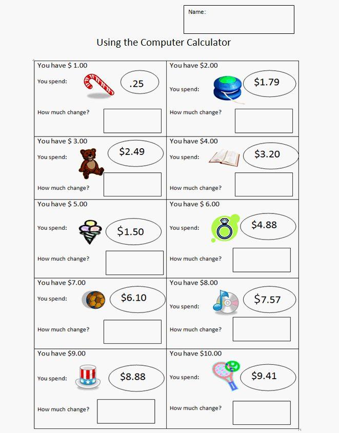 Liczba najlepszych obraz w na temat Money na Pintere cie 22 – Subtracting Money Worksheets