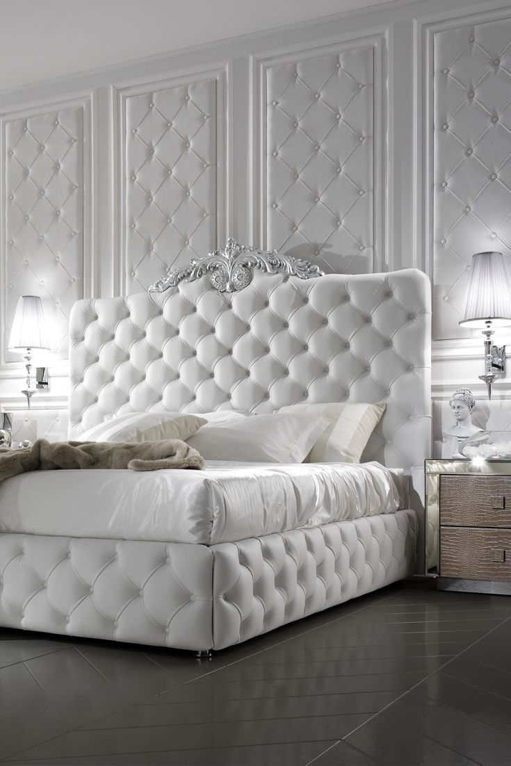 Offering the highest levels of comfort and luxury, you won't find our designer beds anywhere else. From the glamour of beautiful upholstered luxury beds to the subtle carved details of wooden designer beds. All our designs are finished to a breathtakingly high standard. Our Italian Beds can be made to measure, whether you want to customise the fabric, colour or size.