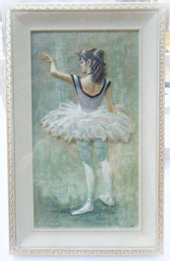 Vintage Ballerina Prints 117