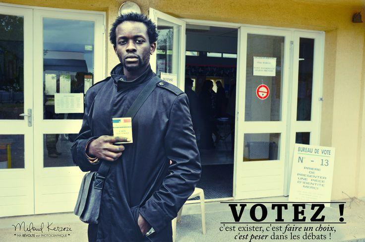 #Municipales2014 #portrait #vote #photography - Pour info: inscription sur les listes électorales en 15mn via internet ou au service état civil de votre ville̷...