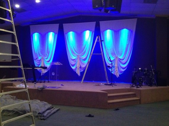 Bunched Church Stage Design Church Stage Church Design