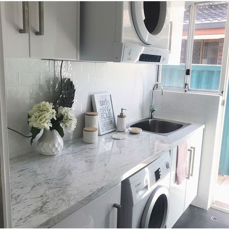 kaboodle kitchen on instagram a little bit of laundry love thanks to this reno by on kaboodle kitchen microwave id=44065