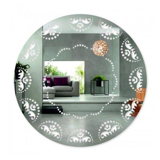 Nalepovacie zrkadlo s ornamentmi