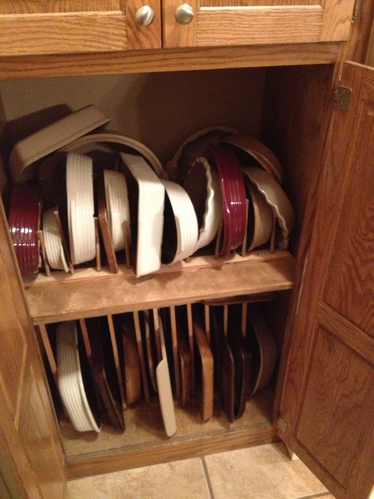 Make This Storage Area For Your Pampered Chef Stoneware