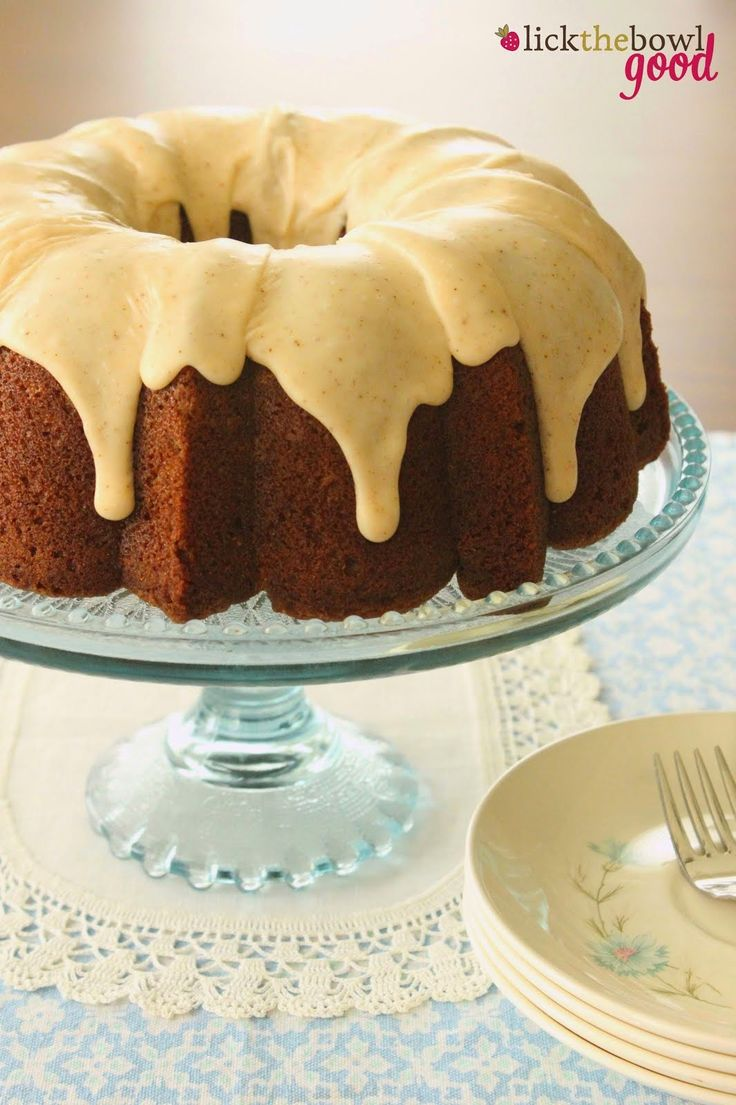 Pumpkin Spice Bunt Cake Recipe With Cream Cheese Frosting