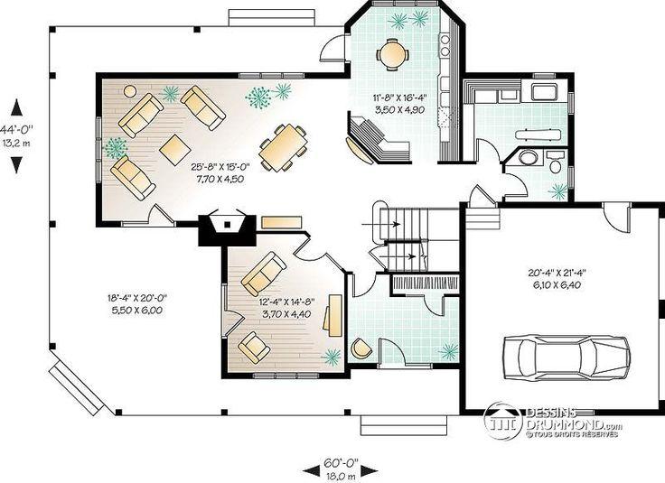 application plan de maison beautiful plainpied champtre. Black Bedroom Furniture Sets. Home Design Ideas