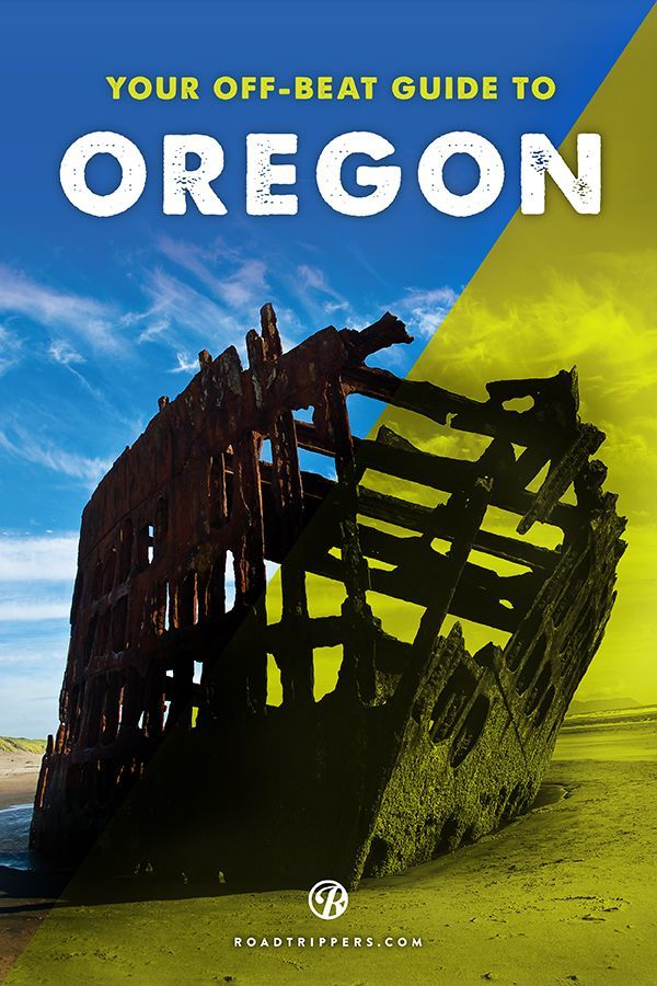 Oregon's a playground for roadtrippers of the offbeat, beautiful and unusual.