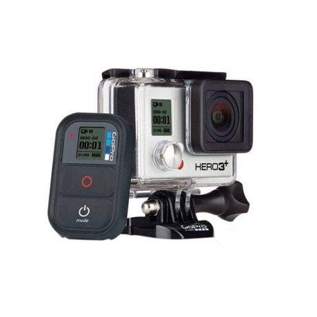 The HERO3+ Black Edition is 20% smaller and lighter than previous models and is compatible with all GoPro mounts and accessories—making it the most mountable, wearable and versatile GoPro ever.