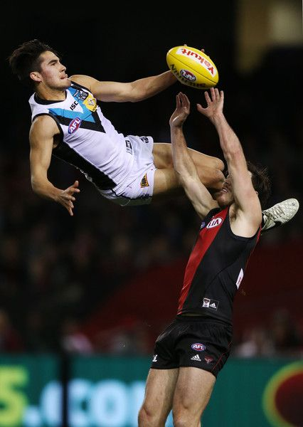 Chad Wingard Photos - AFL Rd 17 - Essendon v Port Adelaide - Zimbio