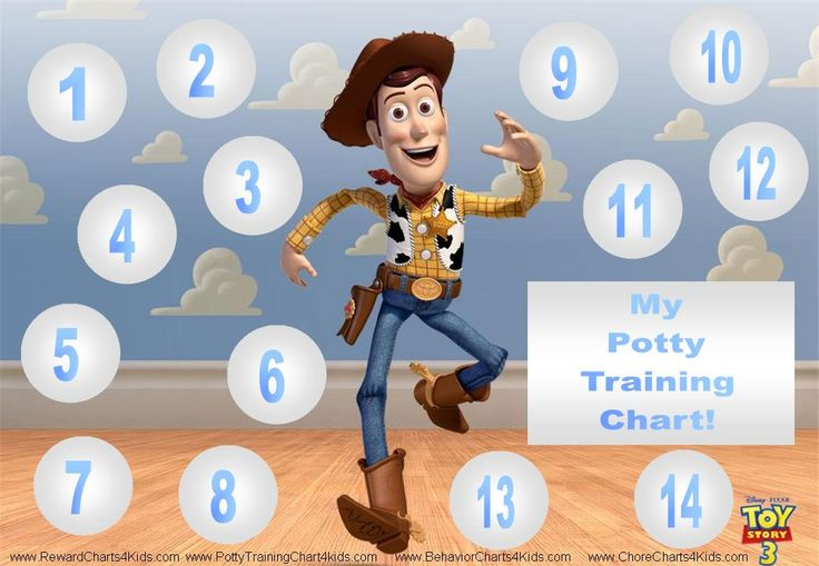Toy Story Potty : Best potty training charts images on pinterest