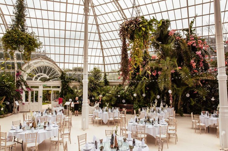 Cassandra Lane Photography | Anna Campbell Giselle Bridal Gown | Botanical Wedding at Sefton Park Palm House Liverpool | Chi Chi London Bridesmaid Dresses | Ted Baker Suit | Succulent Favours | Metallic Decor