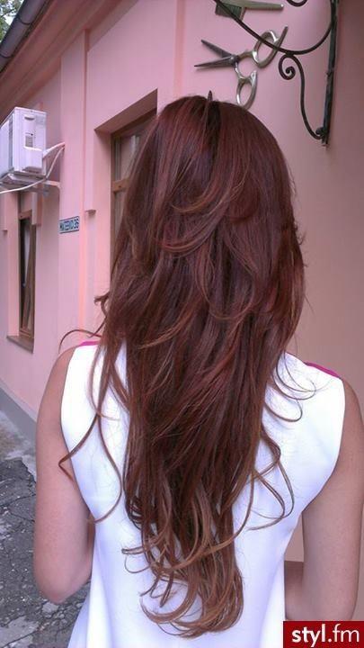 short layers on long hair