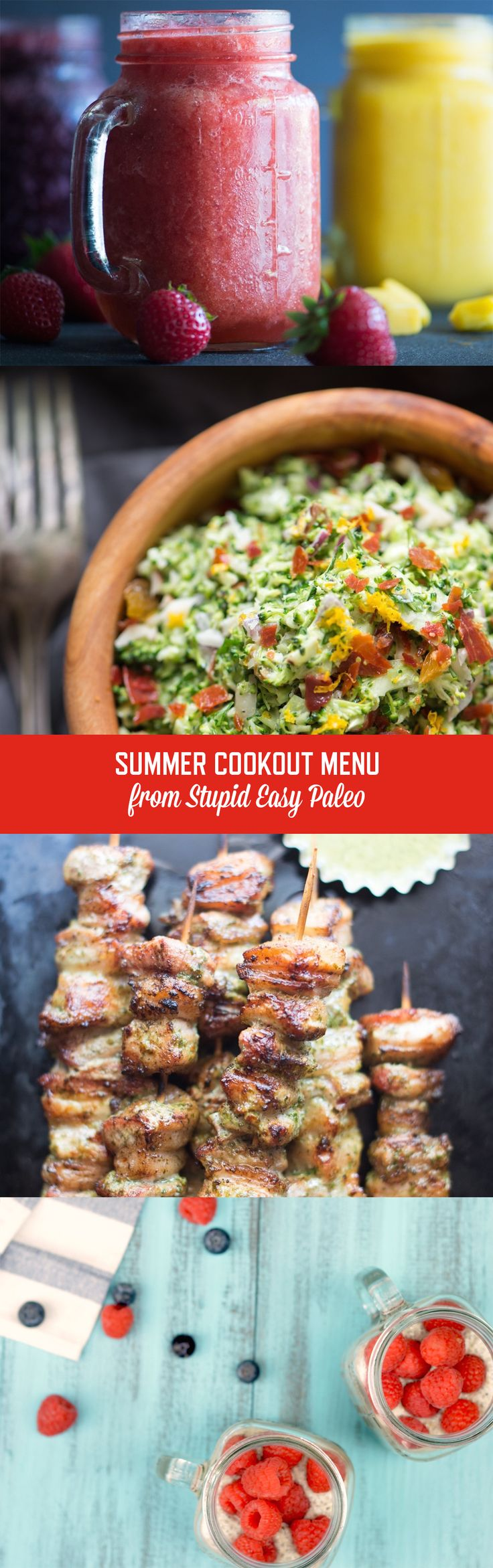 Summer Cookout Menu | StupidEasyPaleo.com