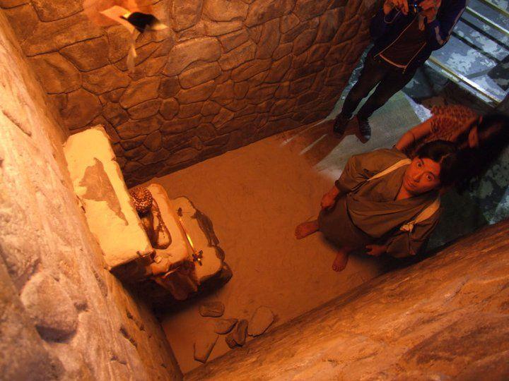 Altar rocas porexpan cenital
