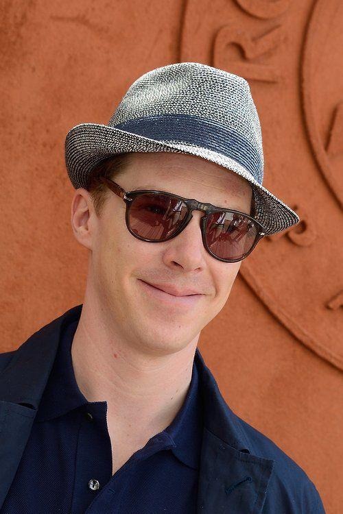 Benedict Cumberbatch at Roland Garros in Paris