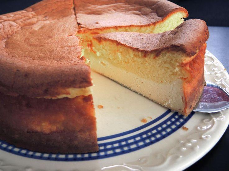 Eierschecke ohne Boden, ein leckerer Käsekuchen ohne Boden, der schnell und einfach zubereitet werden kann.