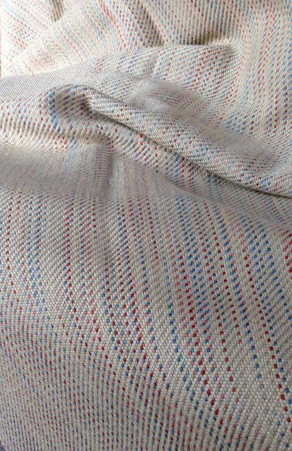 Handwoven Throw Blanket, Hand Dyed Silk and Merino Wool, Handwoven Throw