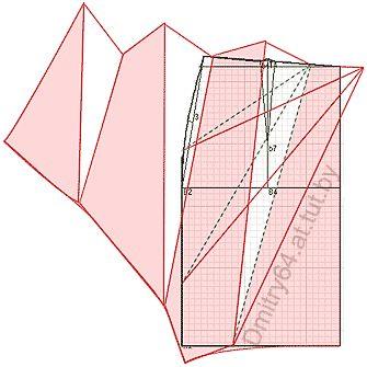 """Примеры моделей юбок разработанных на основах рассчитанных в программе """"Закройщик"""""""