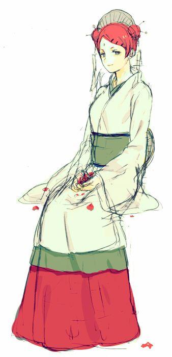 Mito Uzumaki is so majestic and regal. I love her <3