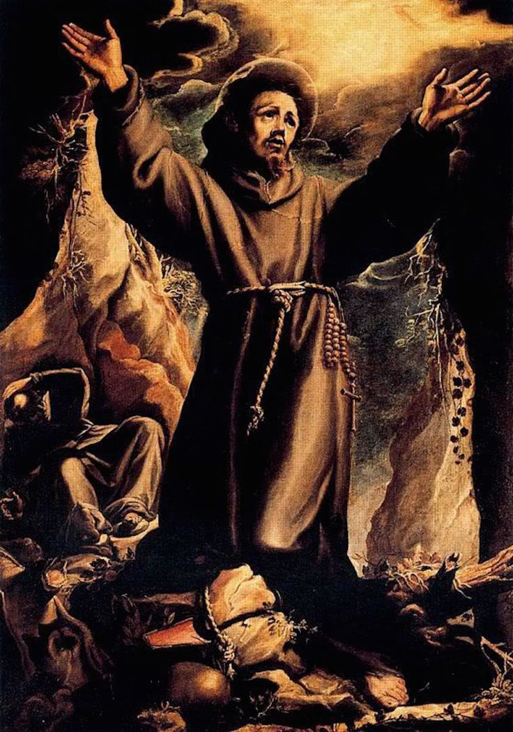 Orazio Borgianni, Saint Francis in Ecstasy, 17th century