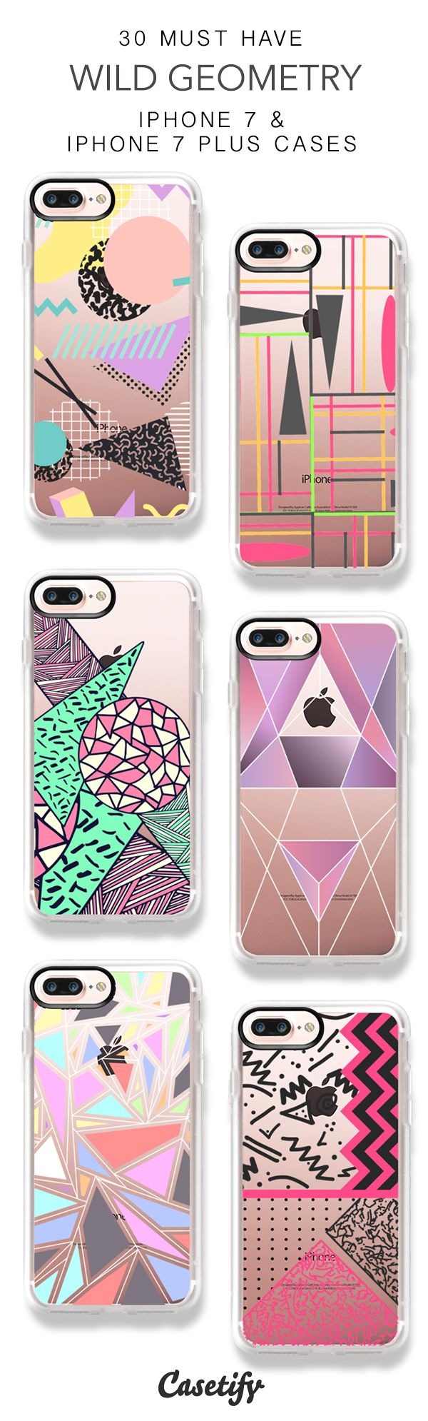 30 Must Have Wild Geometry iPhone 7 Cases and iPhone 7 Plus Cases. More Pattern iPhone case here > https://www.casetify.com/collections/top_100_designs#/?vc=bbc5Mkpvz3