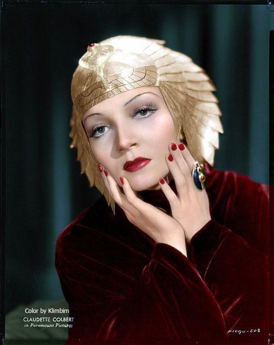 https://flic.kr/p/rVJTJ8   Claudette Colbert - Cleopatra   Claudette Colbert; Cleopatra