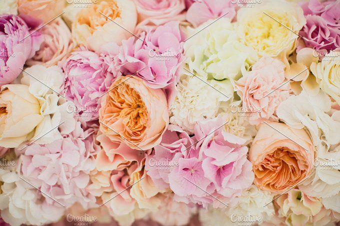 Flowers by NataliaGubinaPhotography on @creativemarket