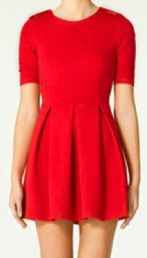 ZARA - RED DRESS AW1011