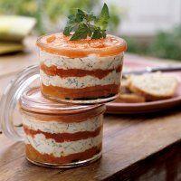 Recette terrine tomate chèvre - Marie Claire Idées