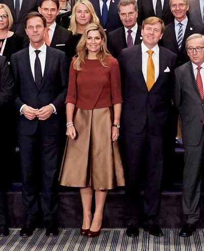 Koningin Máxima bij start EU-voorzittenschap en ondertekening lening Europese Investeringsbank aan Qredits | ModekoninginMaxima.nl