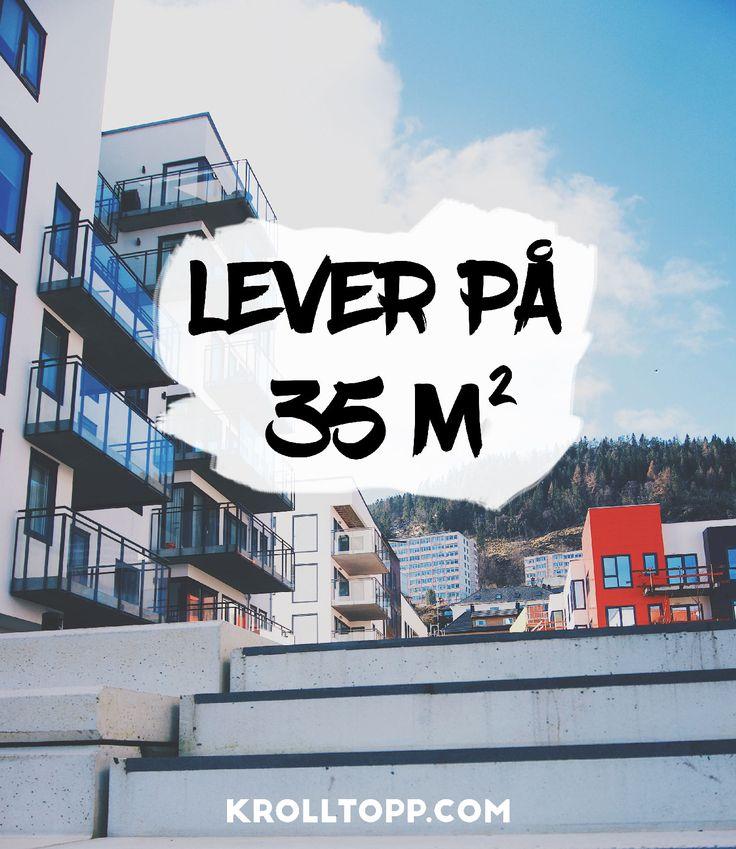 Liten leilighet – Small spaces – 35 m2 – KonMari – Livet som Krølltopp