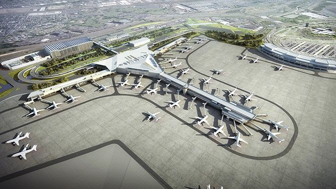 Redevelopment - Newark Liberty Airport - The Port Authority of NY & NJ