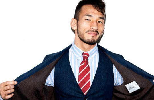 Hidetoshi Nakata - Mr Porter - Editorial