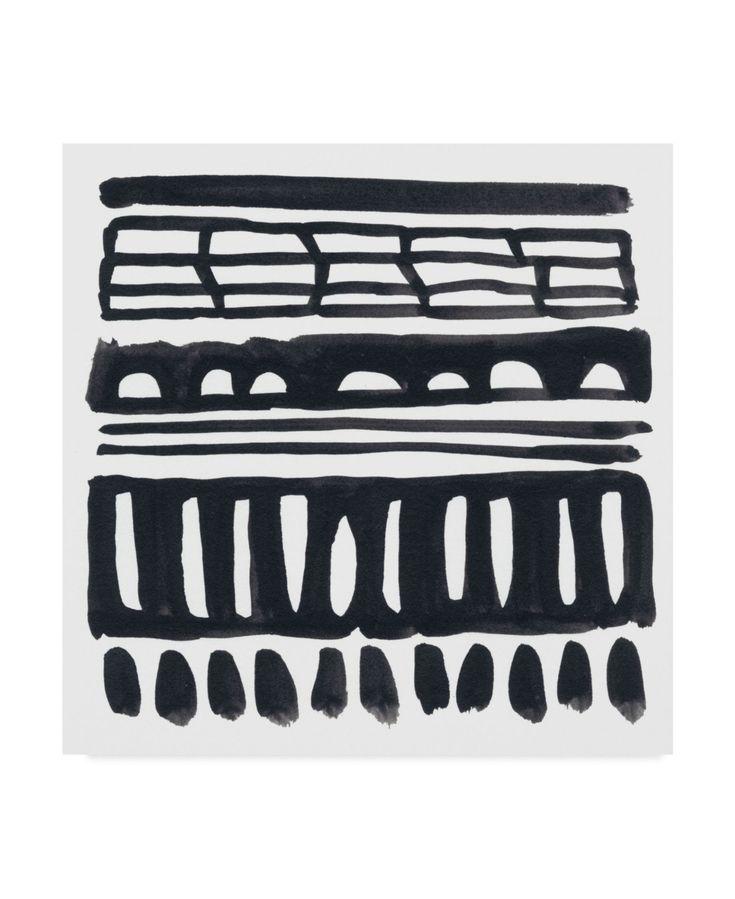 June Erica Vess Weft I Canvas Art – 27″ x 33″ – Multi