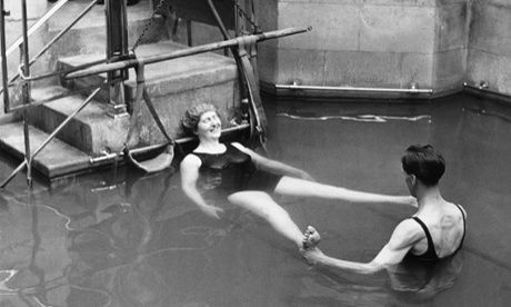 The latest innovation at Victoria Baths, Manchester - a therapeutic jacuzzi - leaves our reporter feeling a little strange