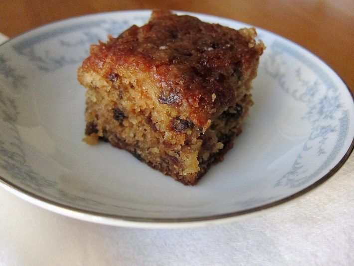 Brandy Butter Cake With Prunes Recipe — Dishmaps