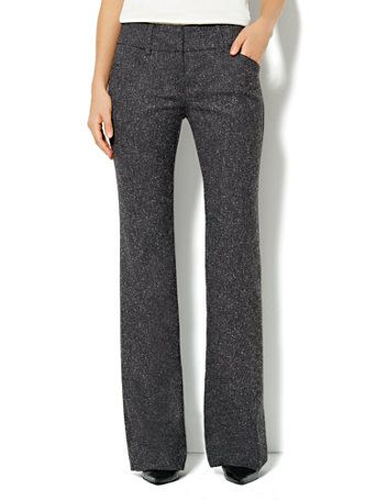 Shop 7th Avenue Bootcut Pant - Tweed - Tall. Find your perfect size online at the best price at New York & Company.