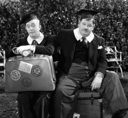 Laurel and Hardy Central - A Chump at Oxford (1940)