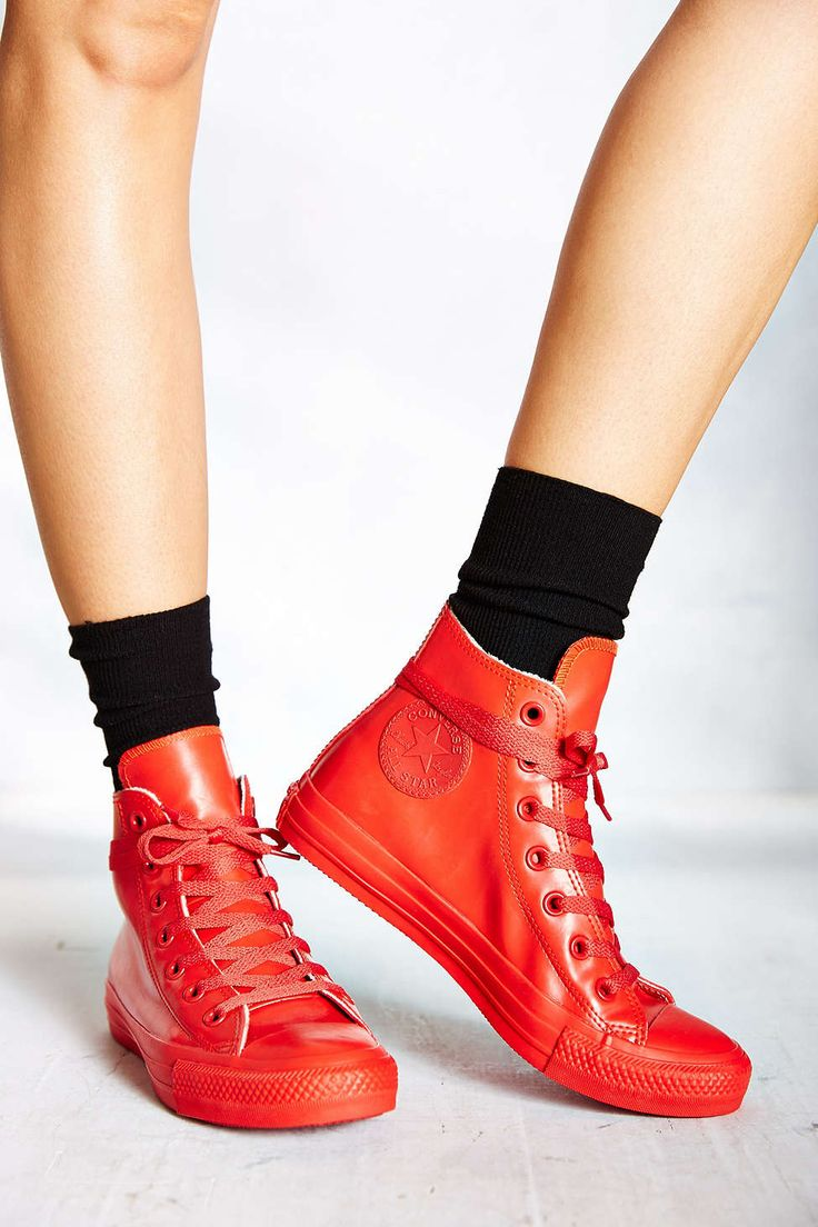 Converse Chuck Taylor All Star Red Rubber Women's High-Top Sneaker
