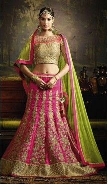 Circular Style Brocade Fabric Desinger Lehenga Choli in Deep Pink | FH518278754 #heenastyle, #designer, #lehengas, #choli, #collection, #women, #online, #wedding , #Bollywood, #stylish, #indian, #party, #ghagra, #casual, #sangeet, #mehendi, #navratri, #fashion, #boutique, #mode, #henna, #wedding, #fashion-week, #ceremony, #receptions, #ring , #dupatta , #chunni , @heenastyle , #Circular , #engagement