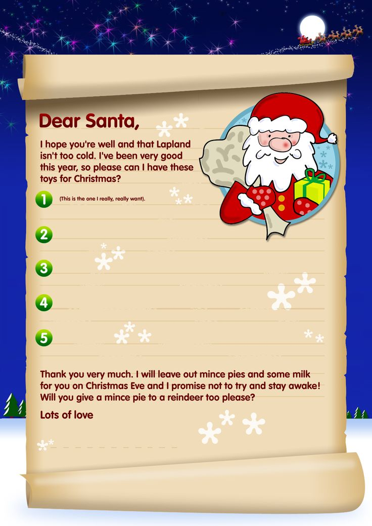 Best Free Santa Letters Template Images On   Christmas